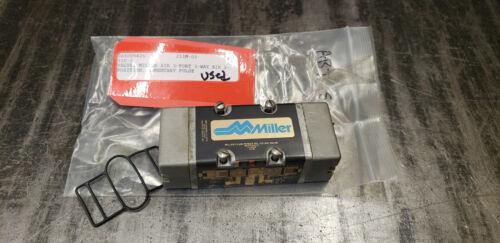 Miller 310 Air Pnuematic Valve.   shelf-r4 blue bin