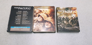The Pacific HBO DVD Blu Ray Region 4 Tin Box Special Like New