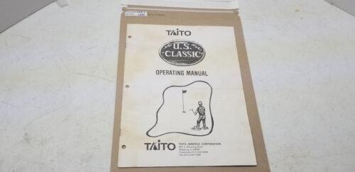 US Classic Taito Manual #1380