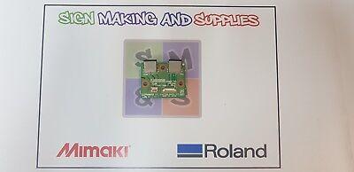 Genuine Roland Soljet Pro Iii Xj 640 Printer Ext Junction Board W700311450