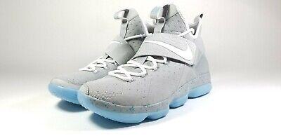 Nike Lebron XIV MAG Marty McFly Future Shoes Men's US Size 10 - Nike Mag Shoes