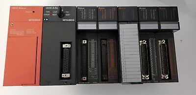 Mitsubishi Melsec A1s62p Power Supply A1scpu Controller A1sy41 A1sy10 A1sy81