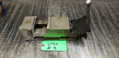 4 Kurt Ii Pt-400 Machine Vise Vice With Steel Jaws Handle. Vice 8 Shelf C4