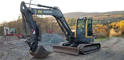 2013 Volvo Ecr88 Excavator Low Hours Thumb Very Nice Ready To Work Finance