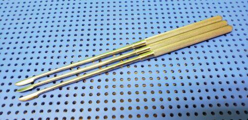 Set of 3 Arthroscope Arthroscopic Scalpel Knifes 20cm Length