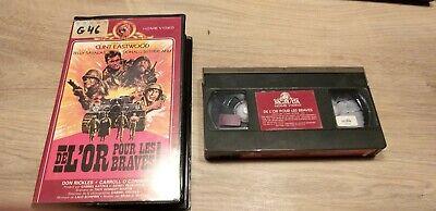 (C4) K7 Cassette Vidéo Vintage VHS - DE L'OR POUR LES BRAVES