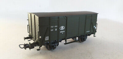 SNCB/ NMBS SASCHENMODELLE WAGON G COUVERT-HO- DC N° 14136.01 EX 1