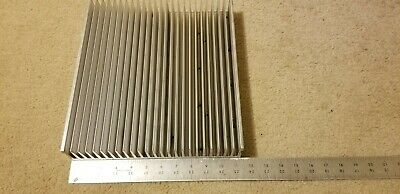 Heavy Large Aluminum Heatsink Heat Sink 11.25x12.25x2.25 25lbs
