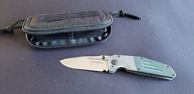 Benchmade Gold Class Model 7505-132 Sibert Design MLK D/A Folding Knife #89