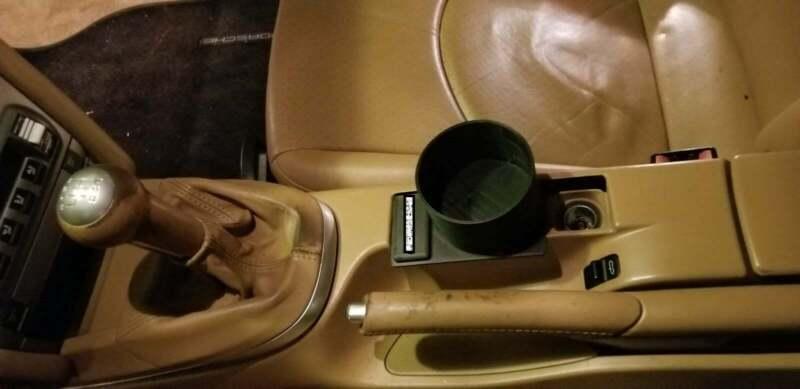 Porsche Ashtray Cupholder #2 (987 & 997 Gen models) | Porsche Boxster | 911