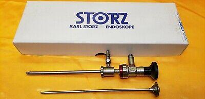 Karl Storz 28731bwa Arthroscope 4mm X 30 With Hf Sheath  Obturator