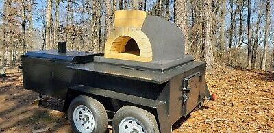 Mobile Pizza Oven Bbq Sink Trailer You Order Sink Food Truck Catering Business