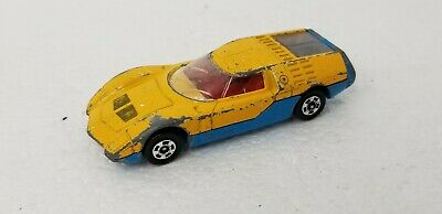 Vintage 1974 Tomica No.34 Mazda RX-500 Yellow Blue JAPAN Vintage Car 1:62 for sale  Shipping to India
