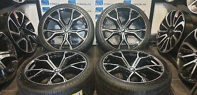 BMW X5 X6 21''inch ALLOY WHEELS M SPORT- E70/E71/F15/F16- WITH NEW TYRES *4*