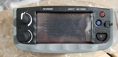 Harris Unity Xg-100m Mobile Radio Control Head Only