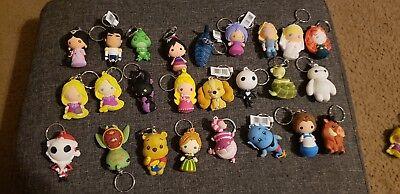 Disney Blind Bag Keychain MULTIPLE CHARACTERS, Rapunzel Mulan Ariel & Pocahontas (Rapunzel Characters)