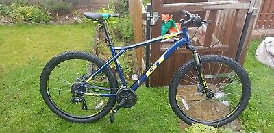 GT Aggressor Comp 2019 Large Upgraded hydraulic brakes
