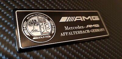AMG Affalterbach Schwarz, Emblem / Aufkleber für Mercedes-Benz - NEU