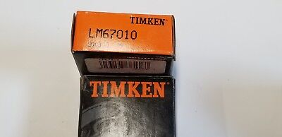 Timken Lm67010 Tapered Roller Bearing Single Cup Cone Pack Of 2 1r-1011-d3
