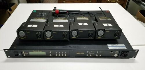 Telex BTR-700 Single-channel uhf synthesized wireless intercom base station with