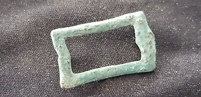 Very rare Superb Roman bronze belt mount/fitting, please read description. L92d