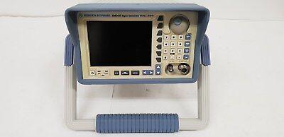 Rohde   Schwarz Sm300  Vector Signal Generator  9Khz To 3Ghz  Am  Fm  Qm  I Q