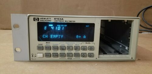 HP 8153A Lightwave MultiMeter Unit #2