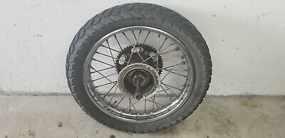 Honda XR 125 L JD19 Hinterrad, Felge hinten mit Reifen, Kettenblatt und Achse ()