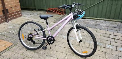 Girls bike 24inch bicycle working