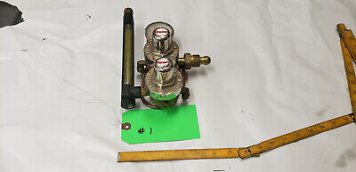 Smith 35-30-320 Gas Flow Meter Regulator Valve He Scfh-arg Co2. Lot1