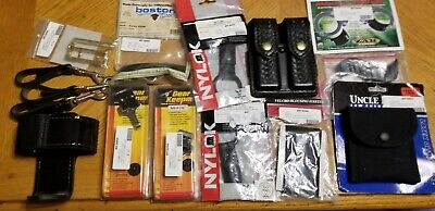 Safariland Lot Of Misc. Police Duty Gear