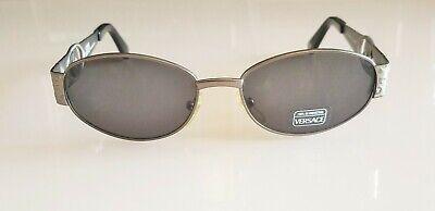 New Vintage Gianni Versace Sunglasses Mod.S51 Elegant Silver Medussa Made Italy