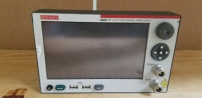 Keithley 2820 Rf Vector Signal Analyzer Front Panel Unit 1 Read