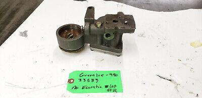 Greenlee 33533 Pump Block Assem 980 Hydraulic Pump No Eccentric Bearing. Shelfc3