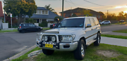 Toyota LandCruiser 4X4 SAHARA   leather interior Hamlyn Terrace Wyong Area Preview