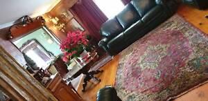 Bohemian rug hand woven 2.70 cm over 1.95cm