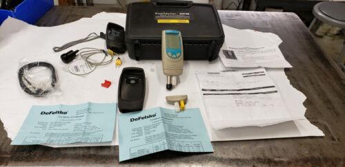 DeFelsko Positector Magnetic  DPM Standard Dew Point Meter Kit in Case. lot#2