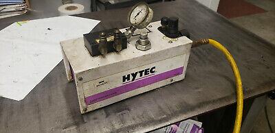 Spx Hytech 100190 Model G Air Over Hydraulic Pump W 9614 Manifold. 4475-psi
