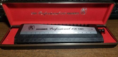Hohner Professional 2016 CBH - Chromatic Harmonica - Vintage