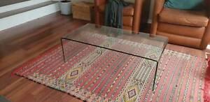 FREEDOM FURNITURE Glass Coffee Table
