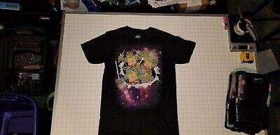 Bioworld Mens TMNT Ninja Turtles Galaxy Black Shirt Size S, M, L, XL, XXL NWOT - Ninja Turtle Shirt