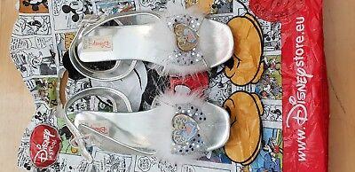 Genuine Disney Store girlsCinderella Shoe/Slipper withstrapUKSize 3 (Cinderella Adult Schuhe)