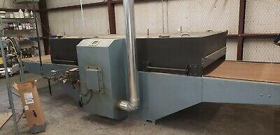 Precision Screen Machine Vortex Gas 48 Wide Belt Dryer Screen Printing