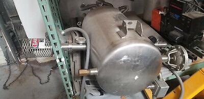 Liquid Nitrogen Phase Separator W Tank Pump And Control Unity Full System