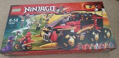 Lego Ninjago ~ Set 70750 (Rare) ~ DBX Truck ~ Brand New & Sealed ~ Free P&P