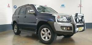 2003 Toyota LandCruiser PRADO GXL Manual SUV North St Marys Penrith Area Preview