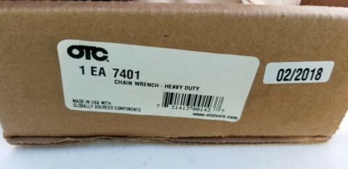 Chain For Otc7401 Chain Wrench New In Box Free Ship Same Day . Tool Automotive.