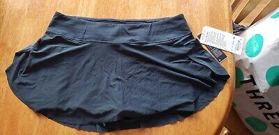 lululemon quick pace skirt submarine size 10 nwt