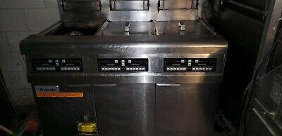 Frymaster Propane Hd Gas Fryer W Built-in Filtration Model Fpph355cse