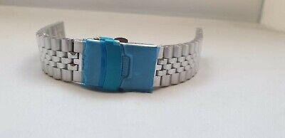 Bracciale/Cinturino Jubilee Acciaio.Ansa 20/22mm finali dritti pieni. Tipo Rolex